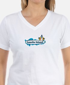 Amelia Island - Surf Design. Shirt