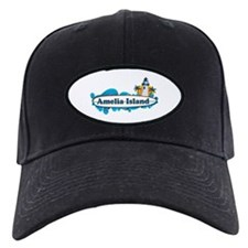 Amelia Island - Surf Design. Baseball Hat