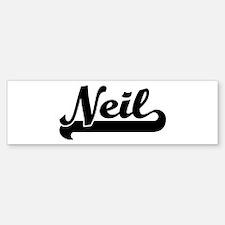 Black jersey: Neil Bumper Bumper Bumper Sticker
