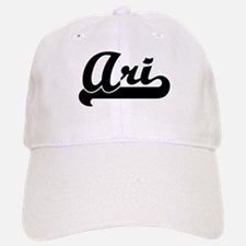 Black jersey: Ari Baseball Baseball Cap
