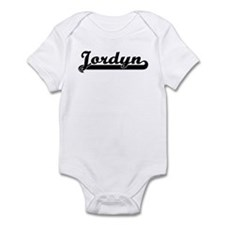 Black jersey: Jordyn Infant Bodysuit