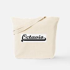 Black jersey: Octavio Tote Bag