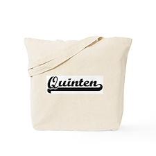 Black jersey: Quinten Tote Bag