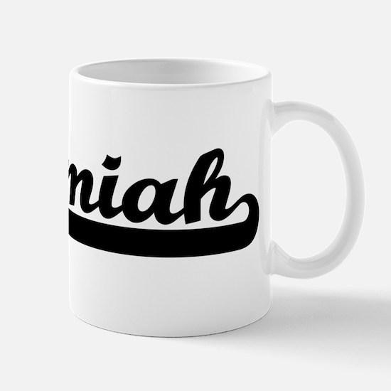 Black jersey: Nehemiah Mug