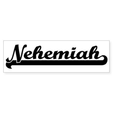 Black jersey: Nehemiah Bumper Sticker