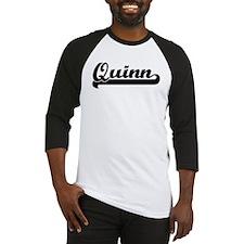 Black jersey: Quinn Baseball Jersey