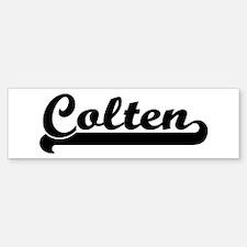 Black jersey: Colten Bumper Bumper Bumper Sticker