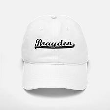 Black jersey: Braydon Baseball Baseball Cap