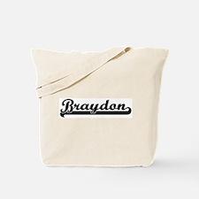 Black jersey: Braydon Tote Bag