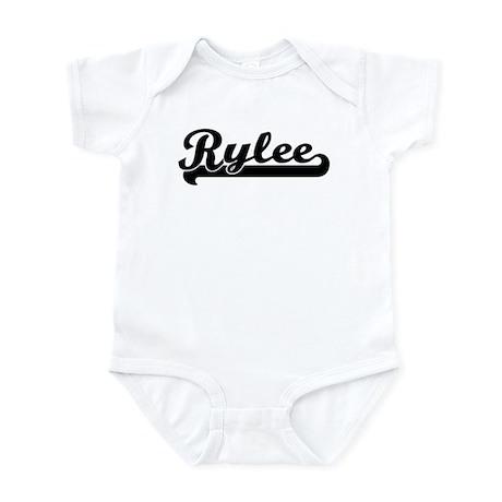 Black jersey: Rylee Infant Bodysuit