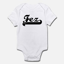 Black jersey: Fez Infant Bodysuit