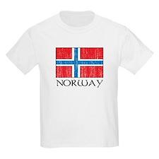 Norway Flag Kids T-Shirt