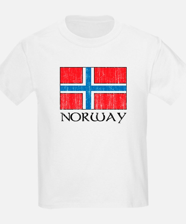 Norway Flag Kids T-Shirt
