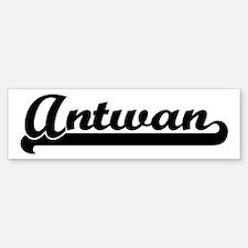 Black jersey: Antwan Bumper Bumper Bumper Sticker