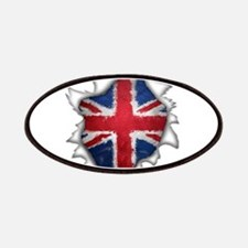 Union flag punch Patches
