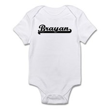Black jersey: Brayan Infant Bodysuit