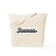 Black jersey: Brayan Tote Bag