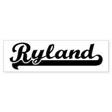 Black jersey: Ryland Bumper Bumper Sticker