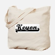 Black jersey: Keyon Tote Bag
