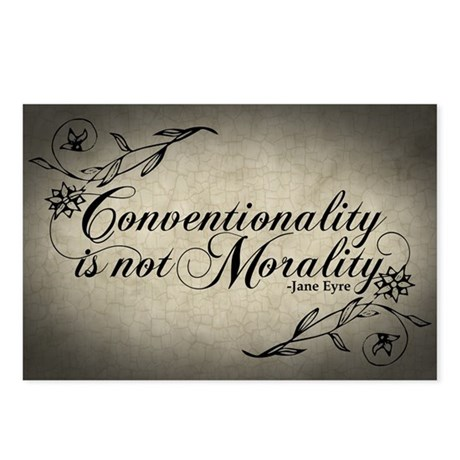 Conventionality Is Not Morality Postcards (Package