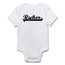Black jersey: Ryker Infant Bodysuit