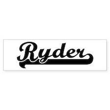 Black jersey: Ryder Bumper Bumper Sticker