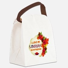 Liberian Boyfriend designs Canvas Lunch Bag