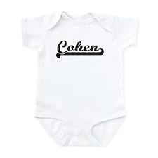 Black jersey: Cohen Infant Bodysuit
