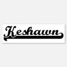 Black jersey: Keshawn Bumper Bumper Bumper Sticker