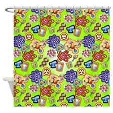 Mad Scientist 2 Shower Curtain