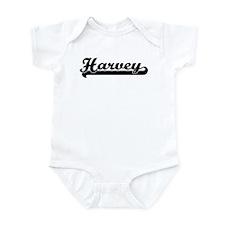 Black jersey: Harvey Infant Bodysuit