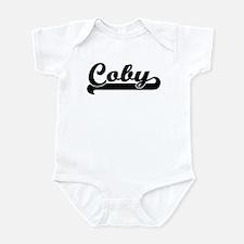 Black jersey: Coby Infant Bodysuit