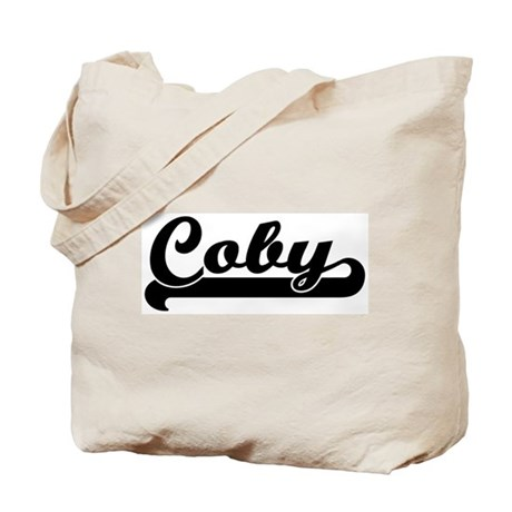 Black jersey: Coby Tote Bag