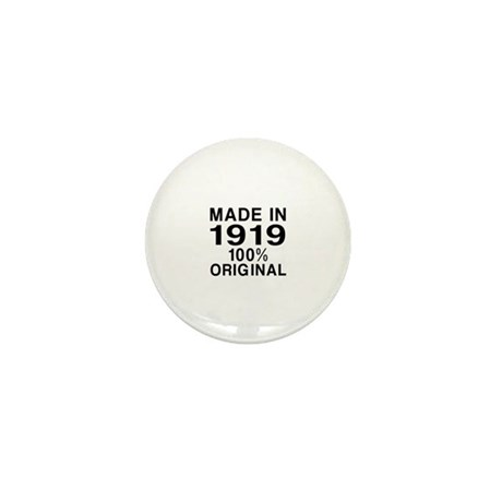 Made In 1919 Mini Button