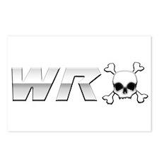 WRX Skull Postcards (Package of 8)