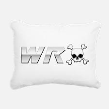 WRX Skull Rectangular Canvas Pillow