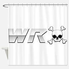WRX Skull Shower Curtain