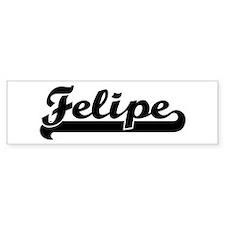 Black jersey: Felipe Bumper Bumper Sticker