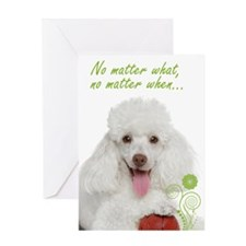 Poodle Love & Support Card