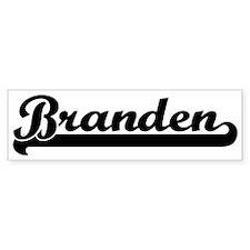 Black jersey: Branden Bumper Bumper Sticker