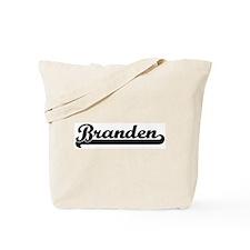 Black jersey: Branden Tote Bag