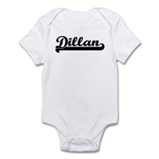 Black jersey: Dillan Infant Bodysuit