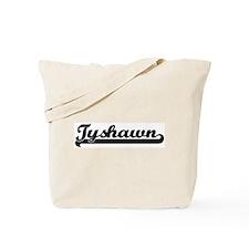 Black jersey: Tyshawn Tote Bag