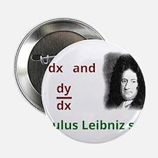 "Calculus Leibniz style 2.25"" Button"