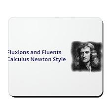 Calculus Newton Style Mousepad