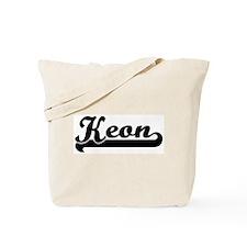 Black jersey: Keon Tote Bag