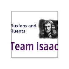 "Team Isaac Square Sticker 3"" x 3"""