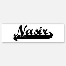 Black jersey: Nasir Bumper Bumper Bumper Sticker