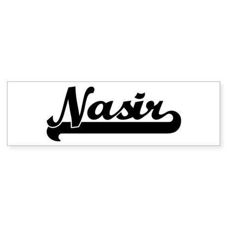 Black jersey: Nasir Bumper Sticker