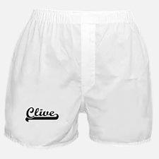 Black jersey: Clive Boxer Shorts